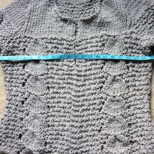 Sweaters - Hand Knit Open Front Sweater